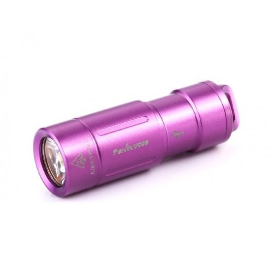 Фонарь Fenix UC02 фиолетовый