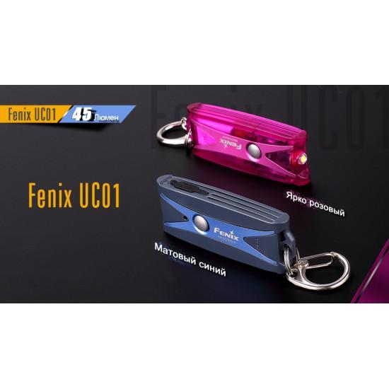 Фонарь Fenix UC01 синий