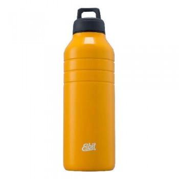 Бутылка для воды Esbit MAJORIS DB1000TL-Y, из нержавеющей стали, желтая, 1.0 л