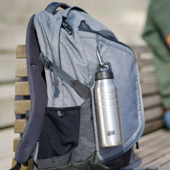 Бутылка для воды Esbit Majoris DB1000TL-S, светло-серая, 1.0 л