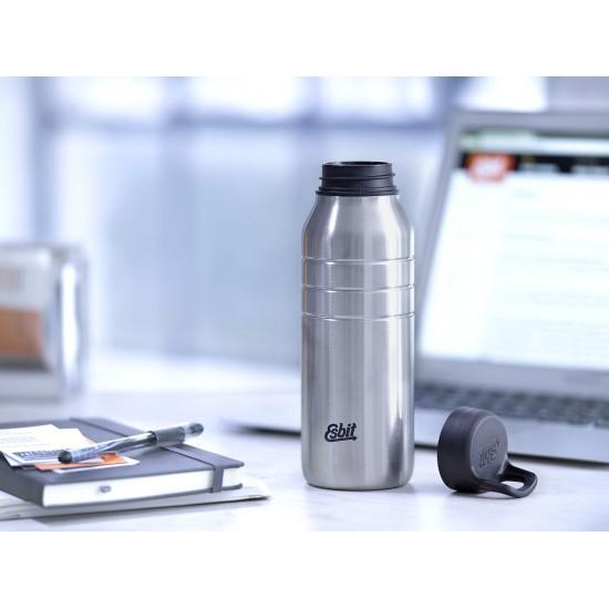 Бутылка для воды Esbit Majoris DB680TL-S, светло-серая, 0.68 л