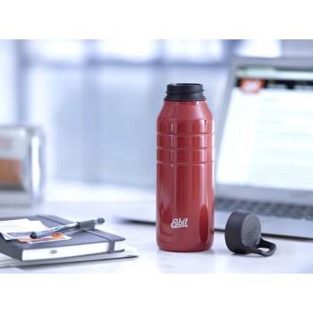 Бутылка для воды Esbit MAJORIS DB1000TL-R, из нержавеющей стали, красная, 1.0 л