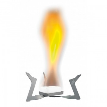 Горелка твердотопливная Esbit ST11.5-TI, титановая для сухого горючего