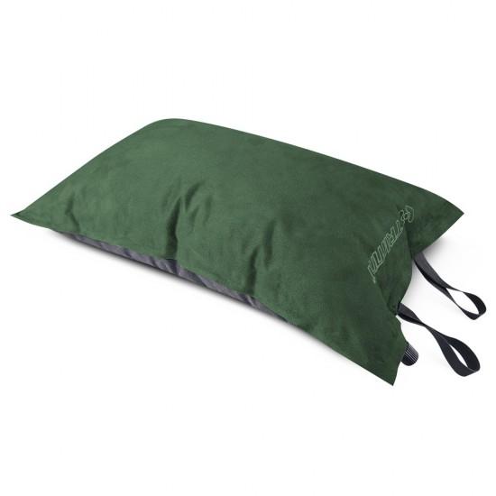 Подушка надувная Trimm GENTLE, зеленый оливковый (46930)