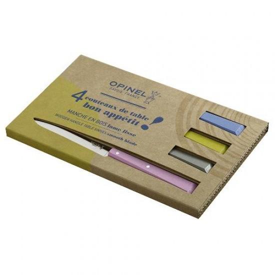 Набор столовых ножей Opinel COUNTRYSIDE N°125 , дерев. рукоять, нерж, сталь, кор. 001533