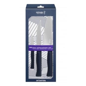 Набор столовых ножей Opinel, Newintempor, деревянная ручка, нерж, сталь. 002224