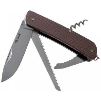 Нож multi-functional Ruike L32-N коричневвый
