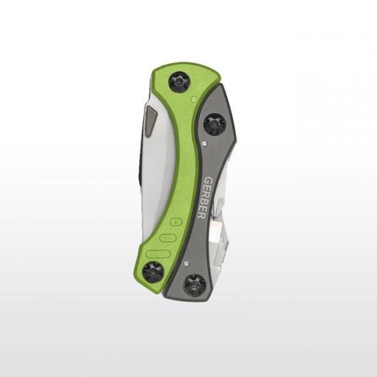 Мультитул Gerber Outdoor Crucial Tool, зеленый, блистер, (1013993)