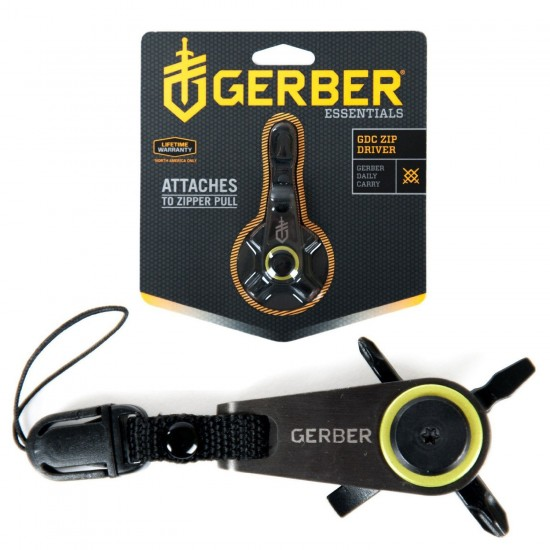 Мини-мультитул Gerber Essentials GDC Zip Driver, блистер, 31-001738