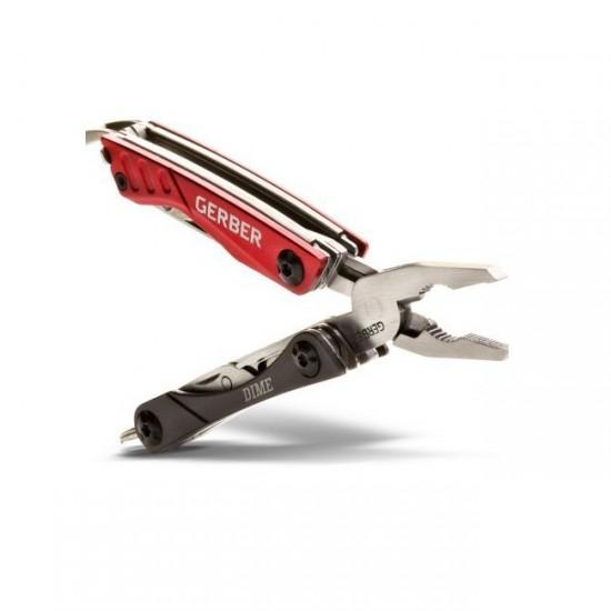 Мультитул Gerber Essentials Dime Micro Tool, красный, (1003723)