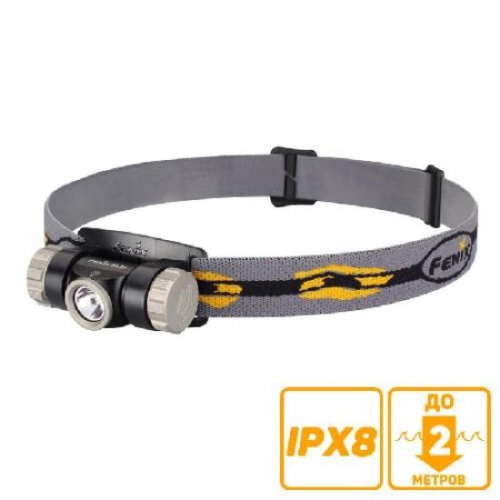 Налобный фонарь Fenix HL23 Cree XP-G2 R5 серый