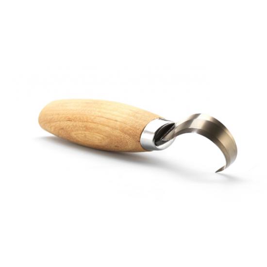 Нож Morakniv Hook Knife 164 Left Hand ложкорез, нержавеющая сталь, рукоять из березы, 13443