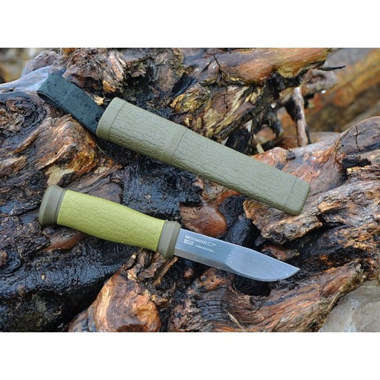 Набор Morakniv Outdoor Kit MG, нож Mora 2000 + топор (зеленый), 1-2001