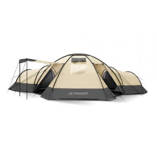 Палатка Trimm Family BUNGALOW II, песочный 8+3