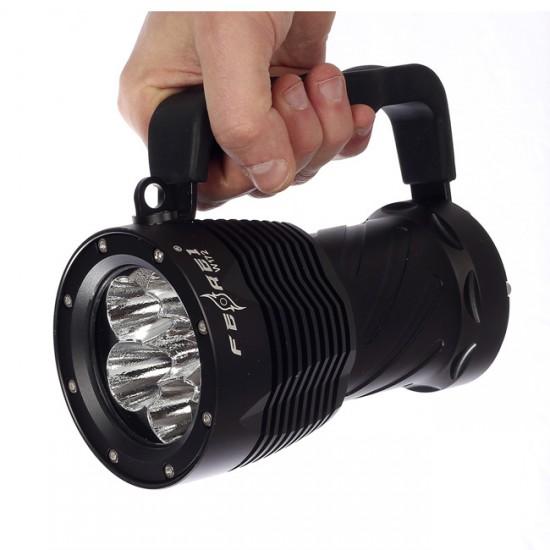 Фонарь для дайвинга Ferei W172B CREE XM-L2 (теплый свет диода)