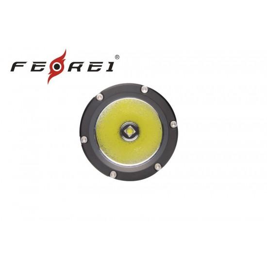 Фонарь для дайвинга Ferei W158 набор, серебряный