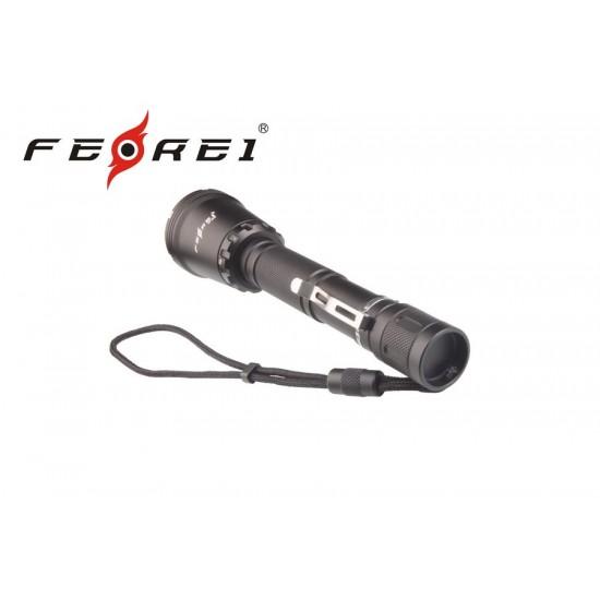 Фонарь для дайвинга Ferei W158, черный