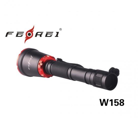 Фонарь для дайвинга Ferei W158 набор, красный