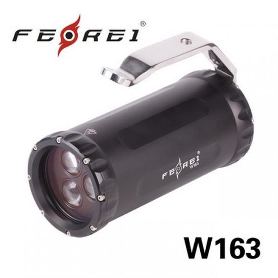 Фонарь для дайвинга Ferei W163 CREE XM-L2 (холодный свет диода)