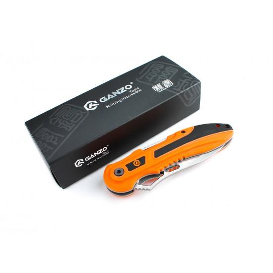 Нож складной Ganzo G621 оранжевый