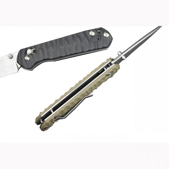 Нож складной Ganzo G717 оранжевый