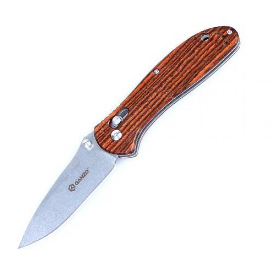 Нож складной Ganzo G7392 светлое дерево