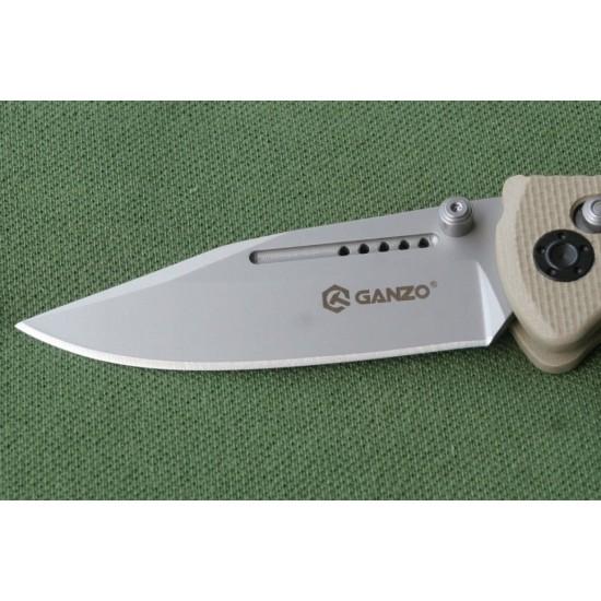 Нож складной Ganzo G702 желтый