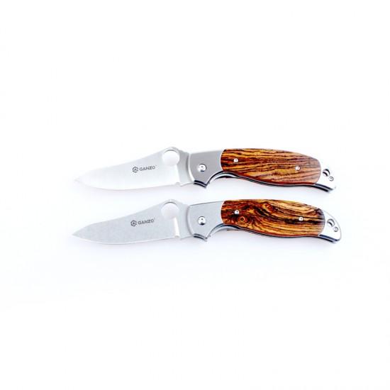 Нож складной Ganzo G7372 светлое дерево