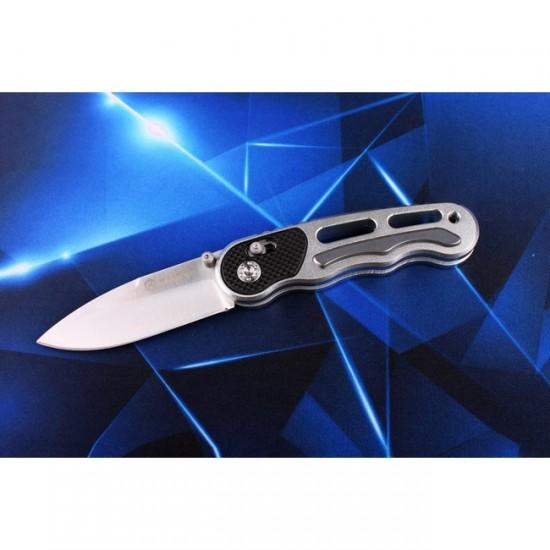 Нож складной Ganzo G718 серебристый