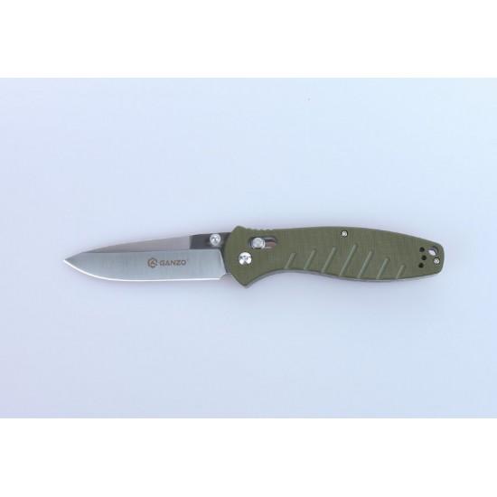 Нож складной Ganzo G738 зеленый