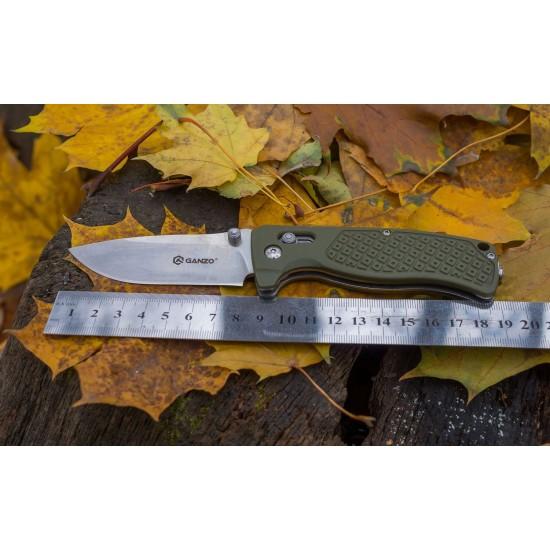 Нож складной Ganzo G724M оранжевый