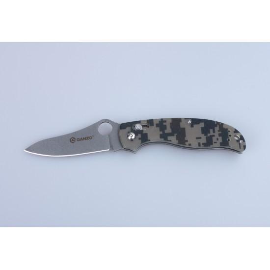 Нож складной Ganzo G733 зеленый