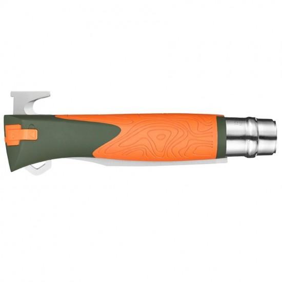 Нож складной Opinel №12 Explore, оранжевый, блистер