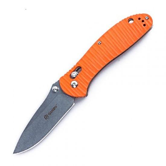 Нож складной Ganzo G7392P оранжевый