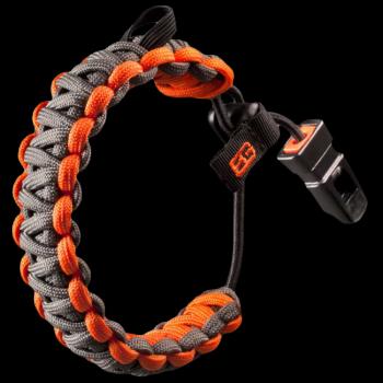 Браслет Gerber Bear Grylls Survival bracelet, eng, блистер, 31-001773