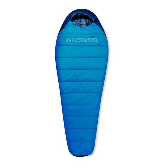 Спальный мешок Trimm SPORTY, синий, 195 L