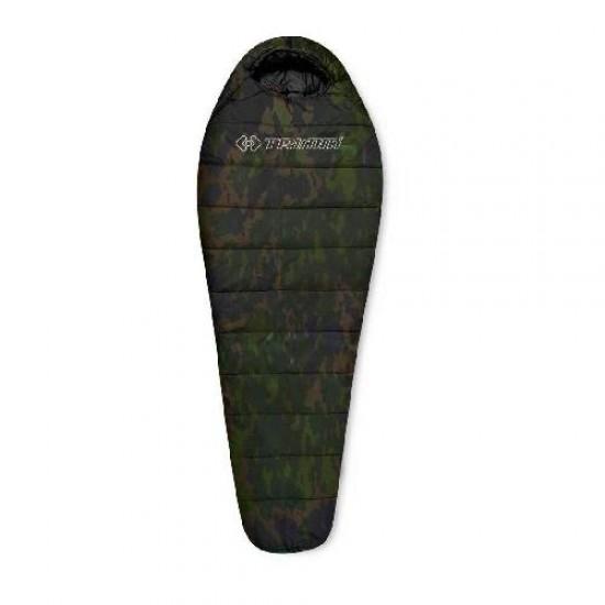 Спальный мешок Trimm Trekking TRAPER, камуфляж, 195 R