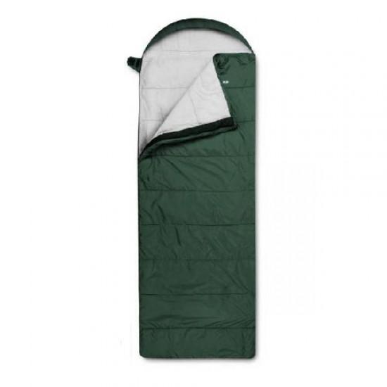 Спальный мешок Trimm Comfort VIPER, зеленый, 195 R