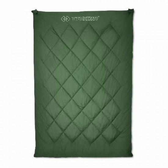 Спальный мешок Trimm TWIN, оливковый, 195 R