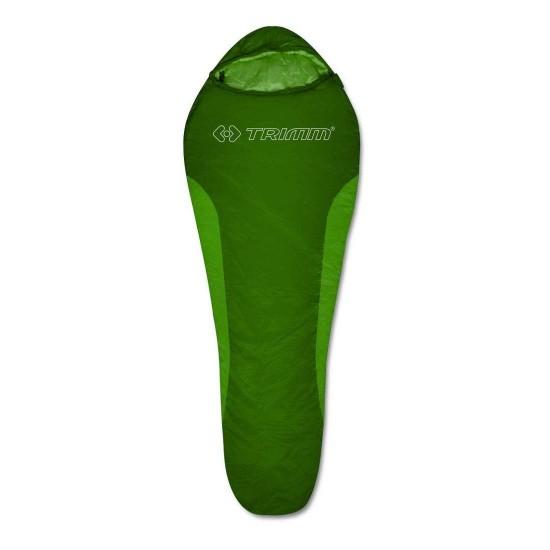 Спальный мешок Trimm CYKLO, зеленый ,185 L