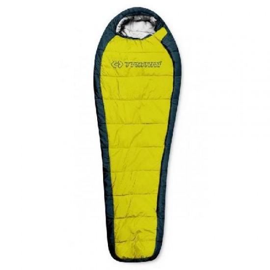 Спальный мешок Trimm Trekking HIGHLANDER, желтый, 185 L