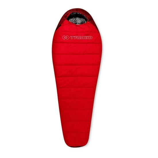 Спальный мешок Trimm SPORTY, красный, 195 R