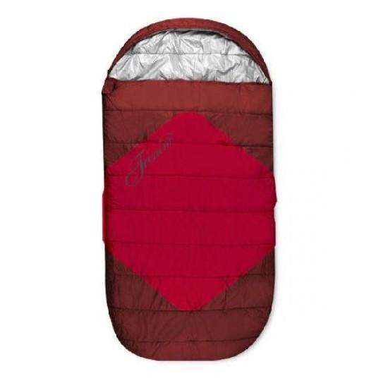 Спальный мешок Trimm DIVAN, красный ,195 R