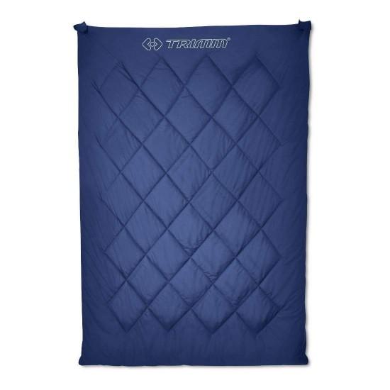Спальный мешок Trimm TWIN, синий, 195 R