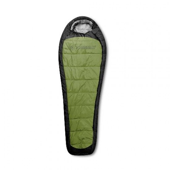 Спальный мешок Trimm IMPACT, зеленый 195 R
