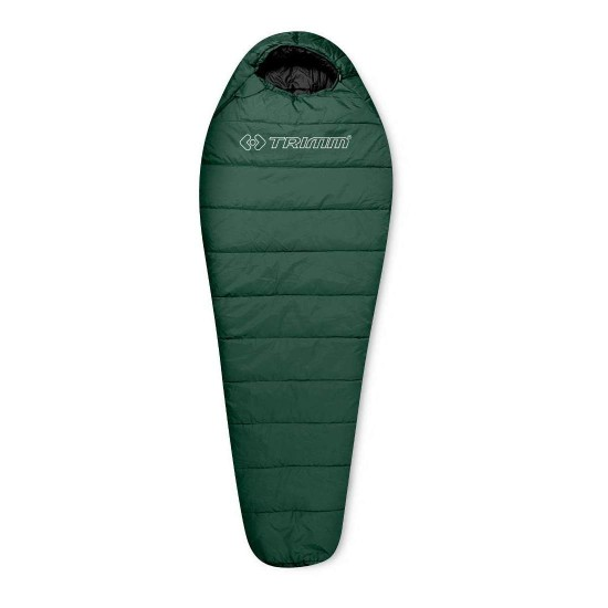 Спальный мешок Trimm Trekking TRAPER, зеленый, 195 L