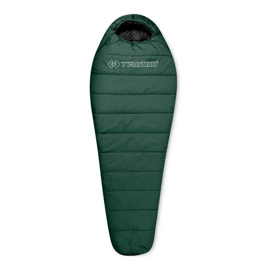 Спальный мешок Trimm Trekking TRAPER, зеленый, 195 R