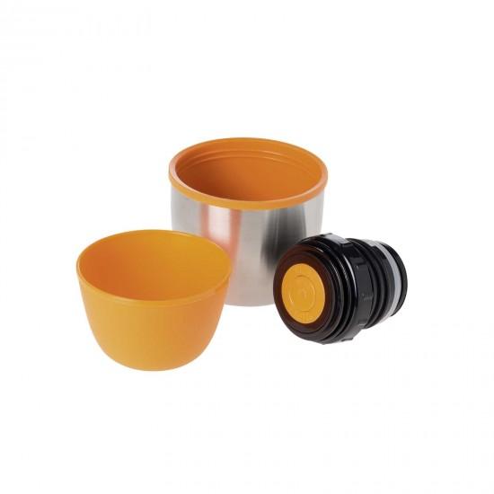 Термос Esbit ISO, новый дизайн, cтальной-оранжевый, 0.75 л