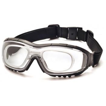 Очки Pyramex V3G GB8210STRX (Anti-Fog, Diopter ready) прозрачные линзы 96% светопропускаемость