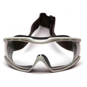 Очки Pyramex Capstone G604T2 (Anti-Fog, Diopter ready) прозрачные линзы 96% светопропускаемость